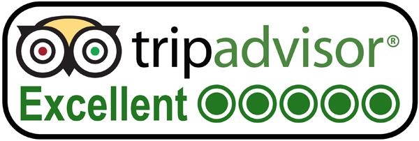 Excellent Auszeichnung von Tripadvisor