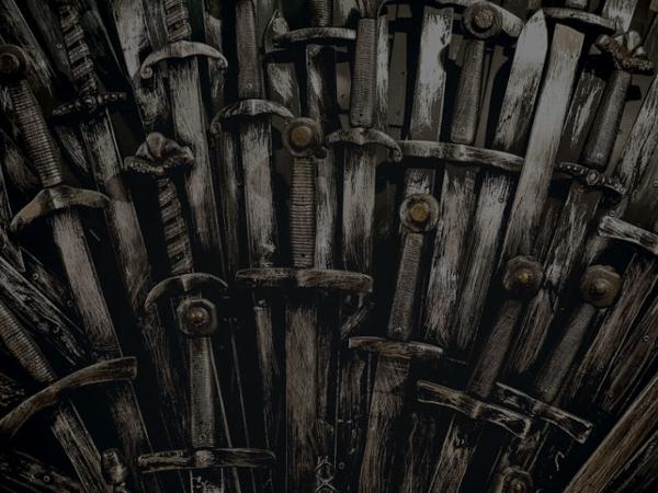 Zusammengeschmiedete Schwerter