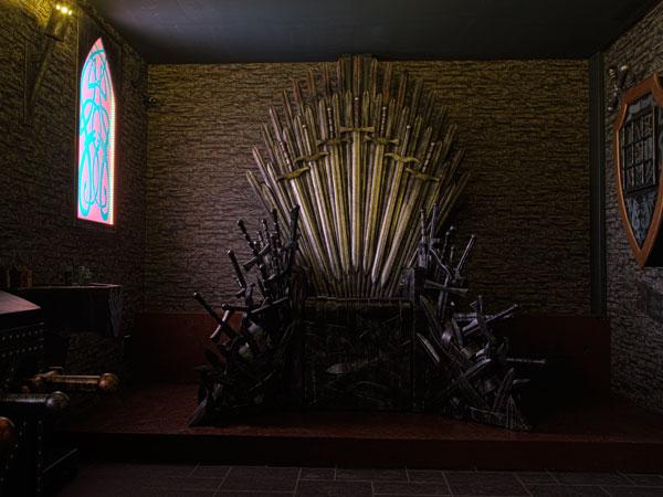 Iron Throne im Thronsaal