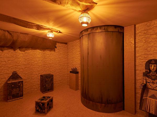Grabkammer eines Pharaos