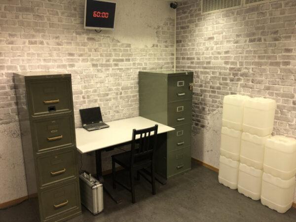 Arbeitsplatz in einem Büro
